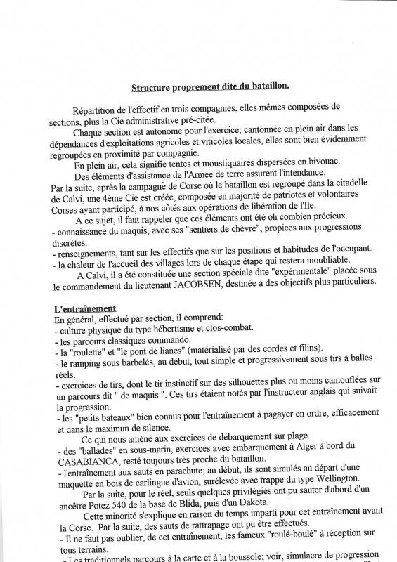 Le 1er Bataillon de Choc à STAOUELI en 1943  par Maurice DOUET (2002) 432665168