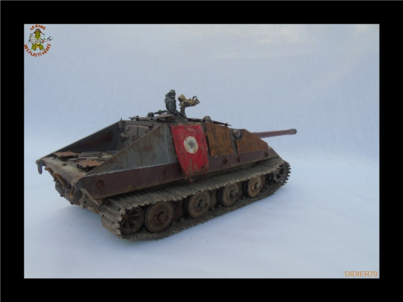 E-100 Jagdpanzer Krocodil 1/35 trumpeter 436398Sanstitre8GF