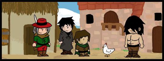 [Webcomic] Dungeon Skippers (Campagne Ulule en cours !) 437190extrait4