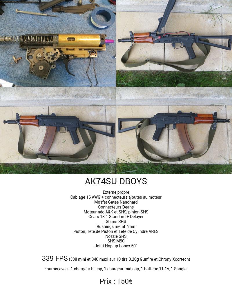 AK74SU DBOYS - G3 T3K1 JG - MICH2000 - MBAV - 1911 - GPS - CAMPING - RAIL CQB 438592Sanstitre1