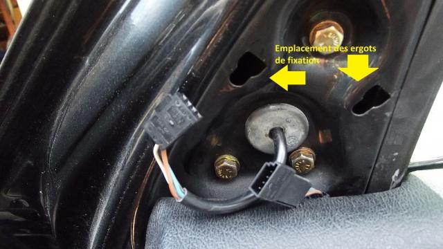 [BMW E36] Remplacement du rétroviseur extérieur 4390595Bornesalimentationlecintrieures