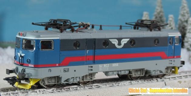 Machines RC des chemins de fer suédois 440062MarklinSJRC3341IMG3821R