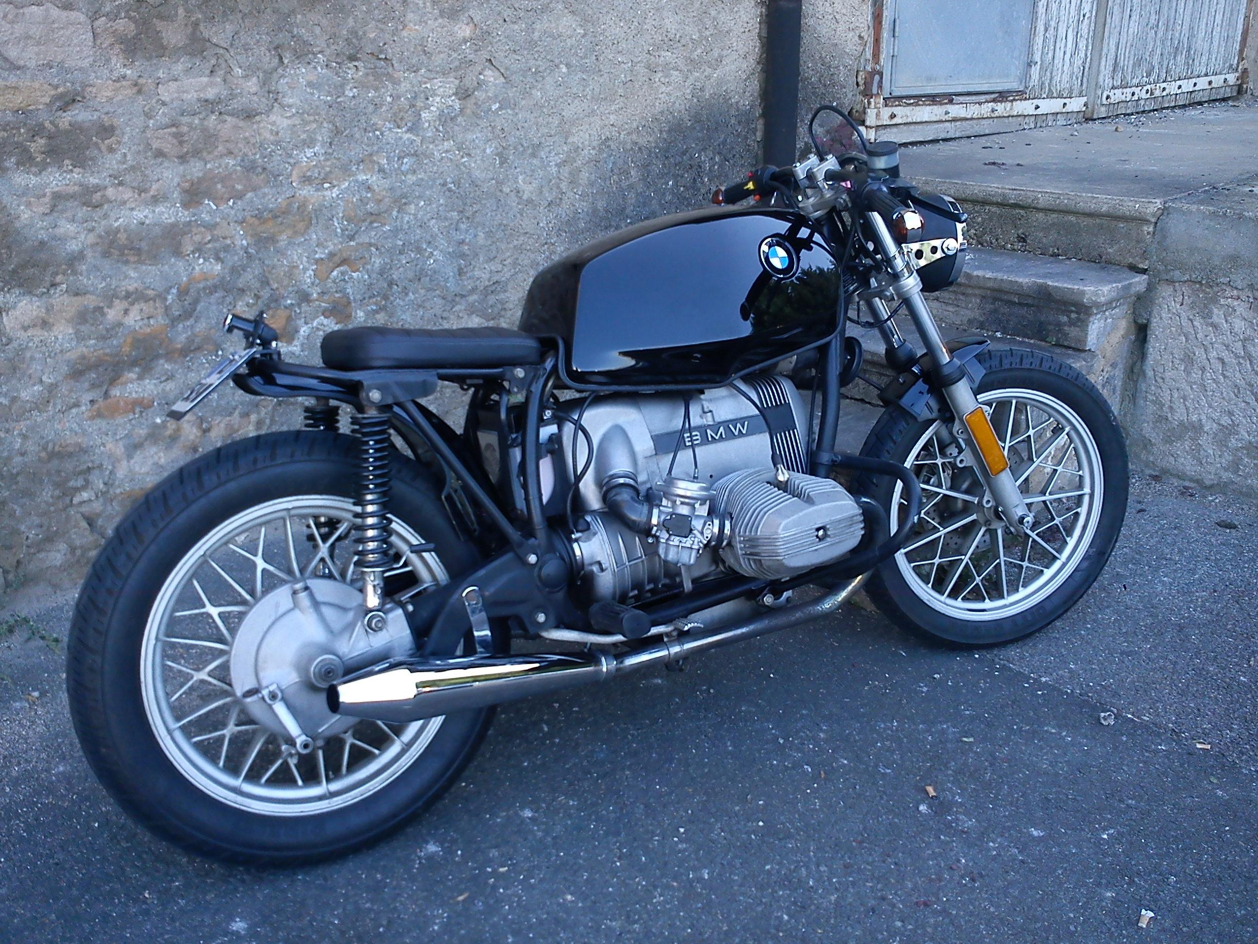 bmw r65 cafe racer occasion id es d 39 image de moto. Black Bedroom Furniture Sets. Home Design Ideas