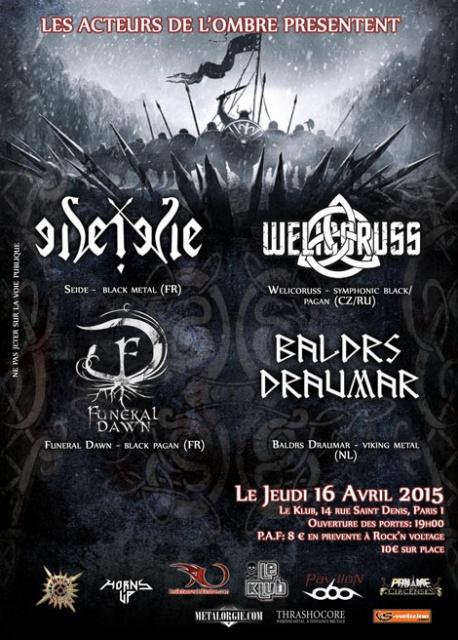 16.04 - Seide+WelicoRuss+Baldrs Draumar+Funeral Dawn @ Paris 44158020150416klubwelicorussA6web