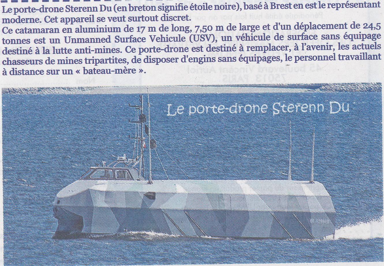 [Les différents armements de la Marine] La guerre des mines - Page 4 442023PorteDrone