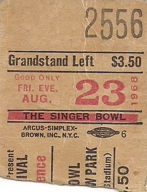 The New York Rock Festival (Singer Bowl, Flushing Meadow Park) : 23 août 1968 - Page 2 442650ticketsingern