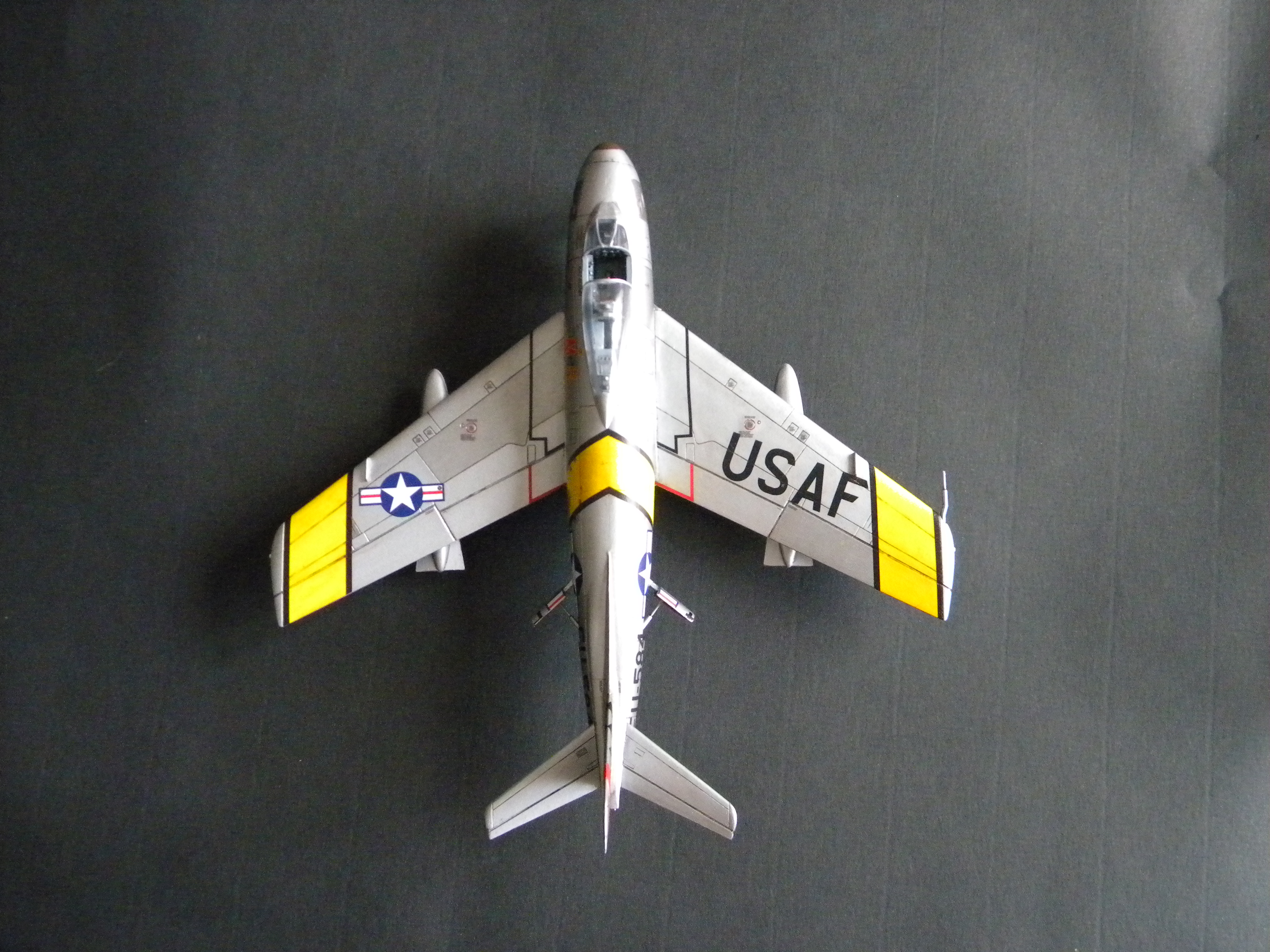 "[Airfix] F-86F Maj. John Glenn ""Mig Mad Marine"" 442949DSCN9686"