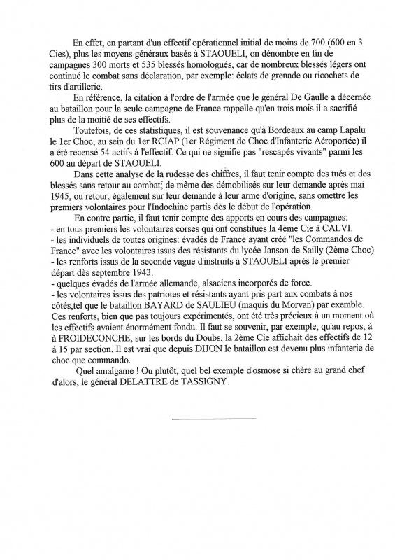 Le 1er Bataillon de Choc à STAOUELI en 1943  par Maurice DOUET (2002) 4435706210