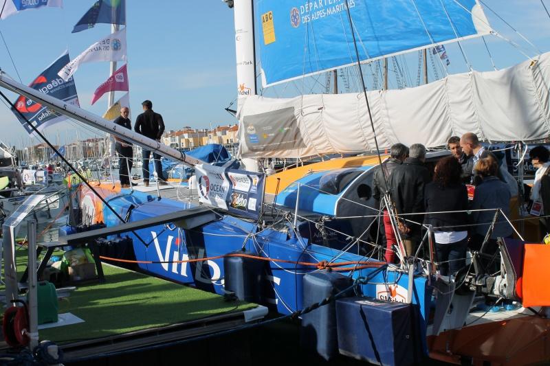 Visite du village et du ponton du Vendée Globe le 25/10/16 443883IMG4498