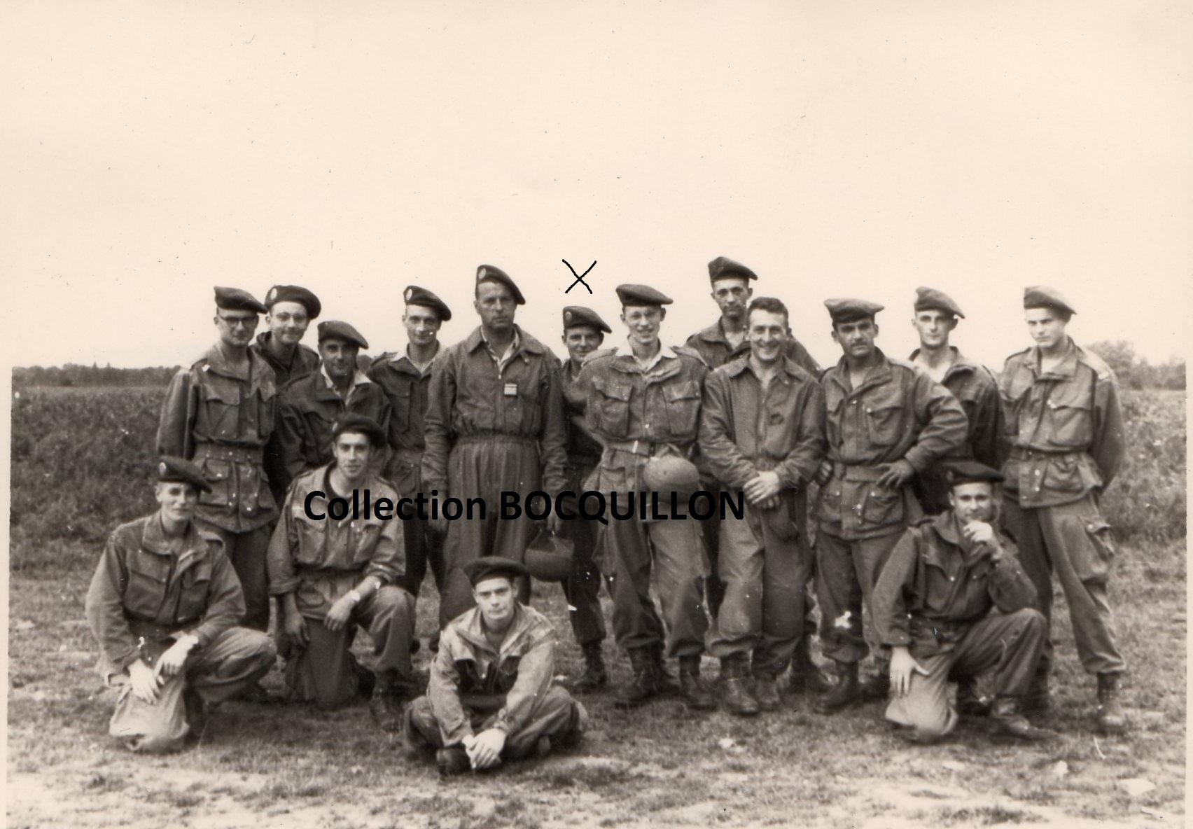 "Sous-lieutenant Yves ALLEMANE Promotion ""AMILAKVARI"" 18è RCP AFN 44443210PromoAMILAKVARIStagebrevetBETAPPau1955recto"