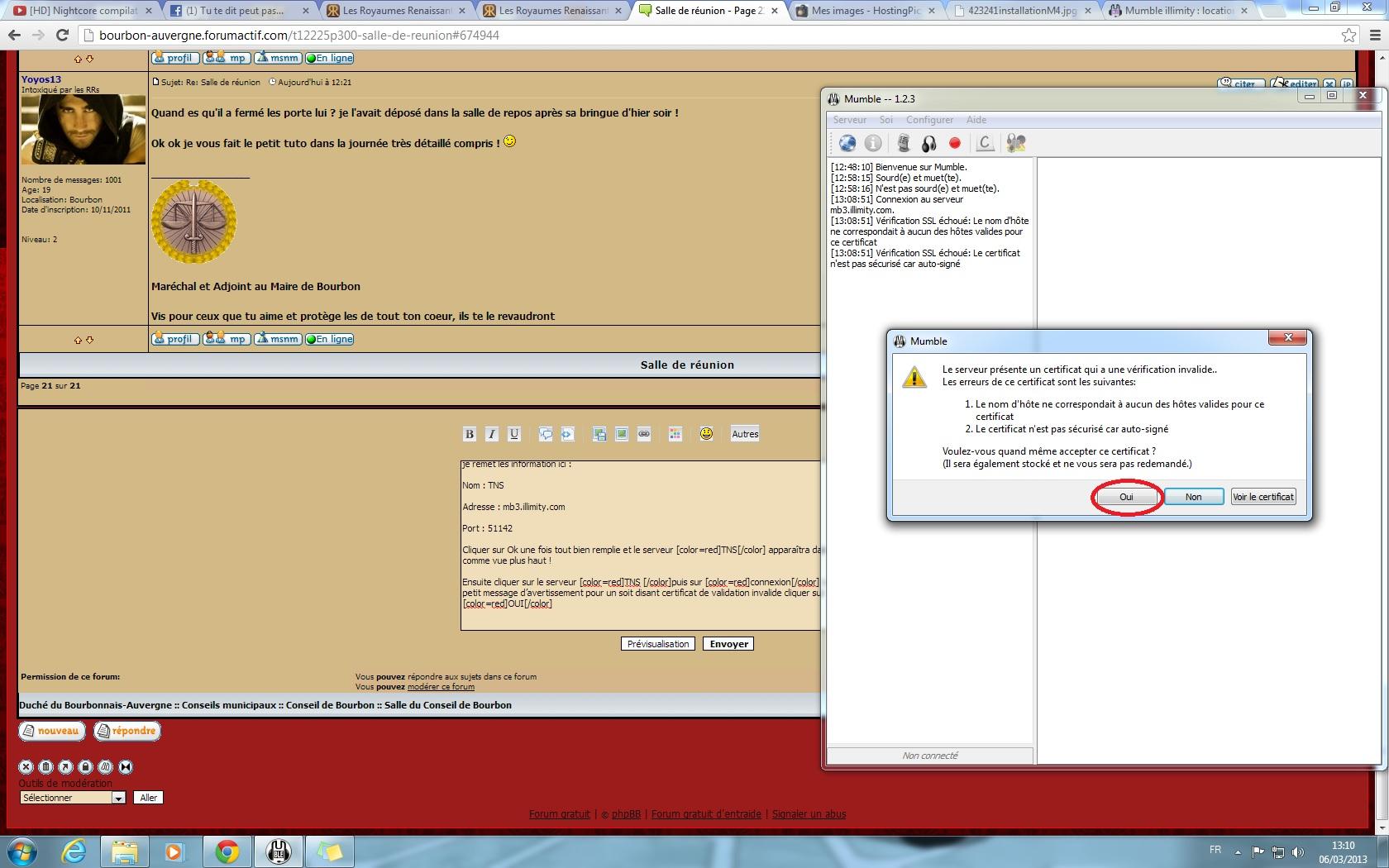 Installer et configurer mumble 445302installationM5