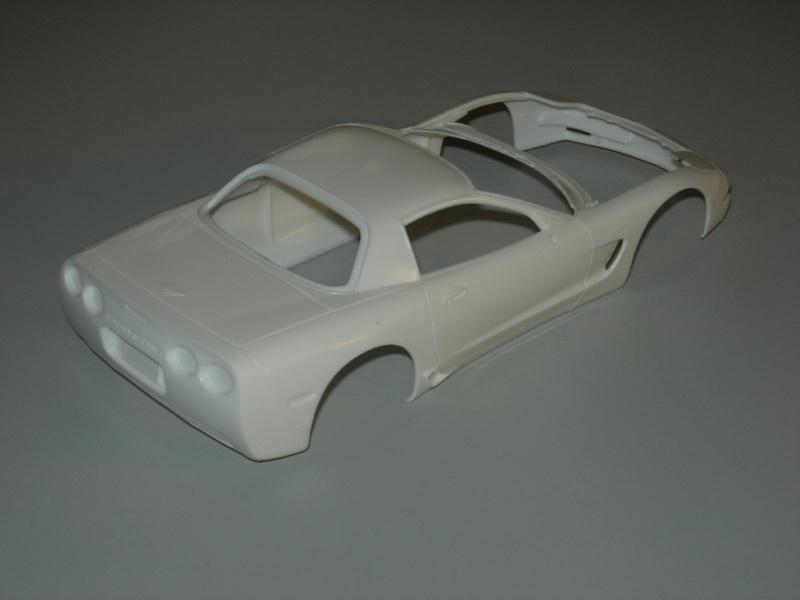 Chevrolet Corvette Z06 2001 Revell. 445983DSCN9098