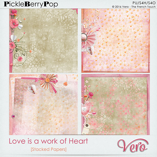 Véro - MAJ 02/03/17 - Spring has sprung ...  - $1 per pack  - Page 10 447211Veroloveisaworkofheartstackedpv