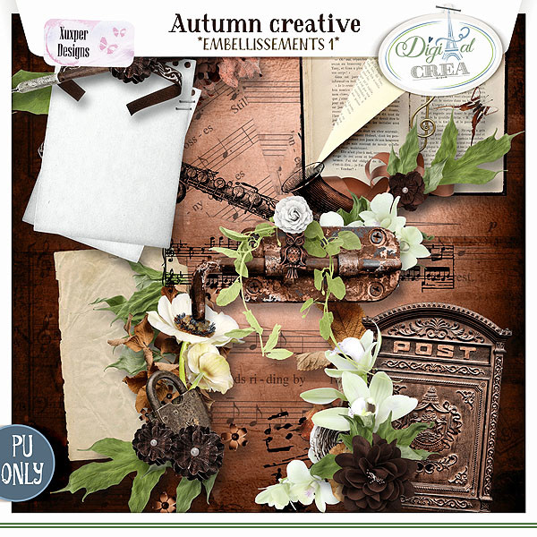 Collection Autumn creative de Xuxper Designs + Promo 448563117