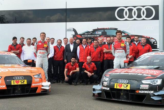 Les équipes Audi Sport sont prêtes pour l'ouverture de la saison de DTM 448716A163079medium