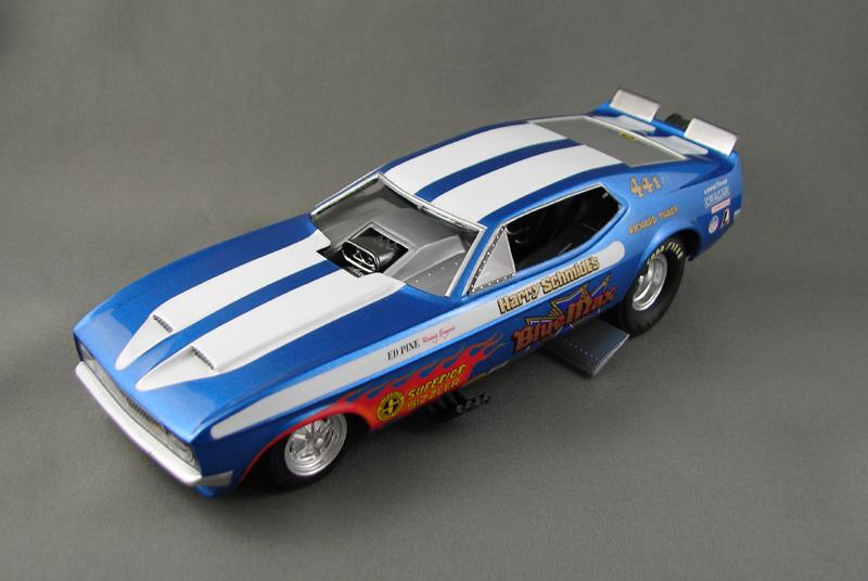 Blue Max Funny Car 449940bluemax0014