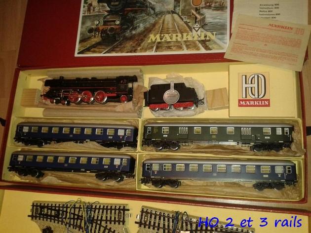 Coffrets Märklin 1936 - 1968 (rouges, noirs, verts ou bleus) 450345Marklincoffret3148R