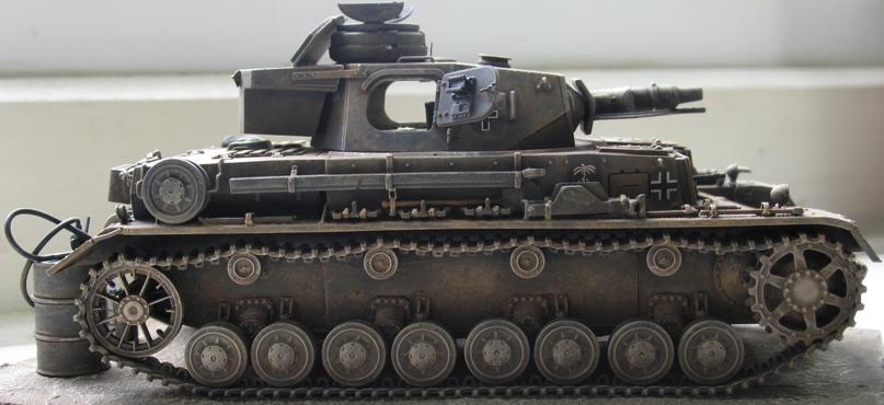 Pz IV ausf E DAK  Dragon 1/35 452251IMG0014