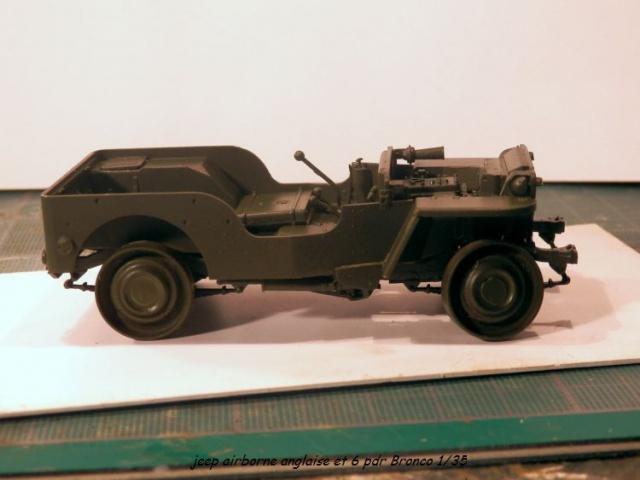 6 pdr ,jeep ,équipage airborne Bronco 1/35 (sur la route de Ouistreham) 453143P5020092