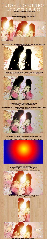 Tutoriel kit -Love at the sunset [Travail sur stock - Facile] 453192sunettuto