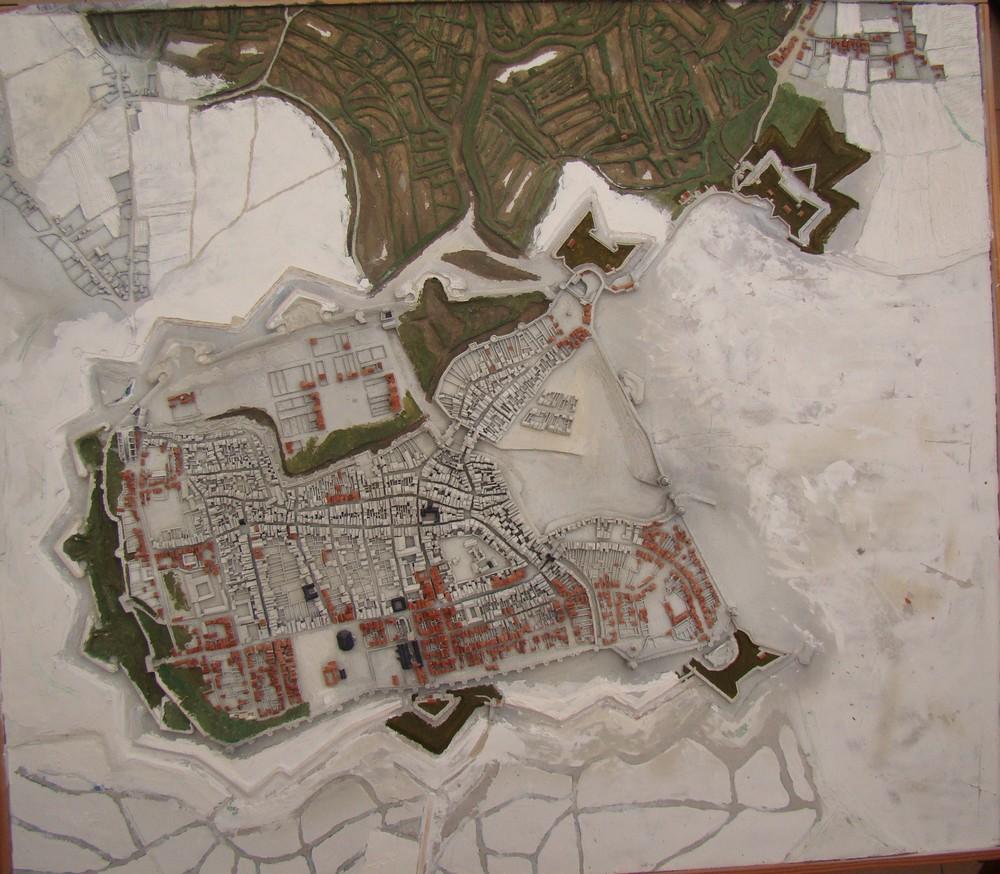// La Rochelle 1628 // Le plan-relief // 453370DSC058442