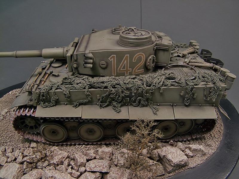 tiger - Tiger I 142 Tunisie Rye Field Model 453693V74