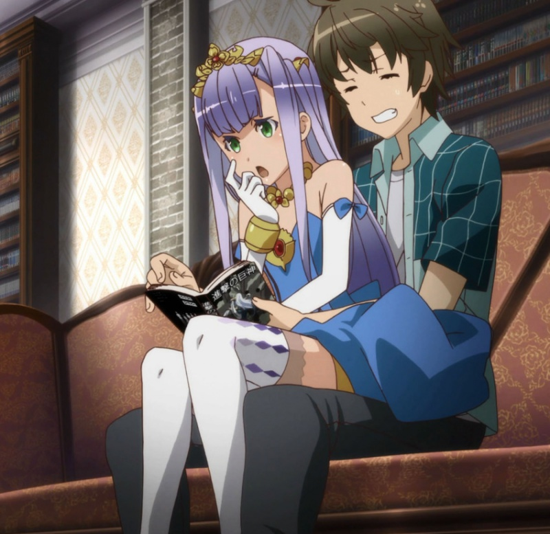 [2.0] Caméos et clins d'oeil dans les anime et mangas!  - Page 7 454111sampleae8a61b98bb5c1d803ea45214226ba47