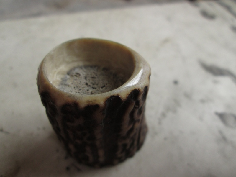 Création blaireau bois de cerf 454872IMG5306