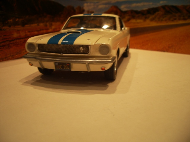 mustang shelby 350 GT 1965  kit monogram 1/24 . 457506IMGP3088