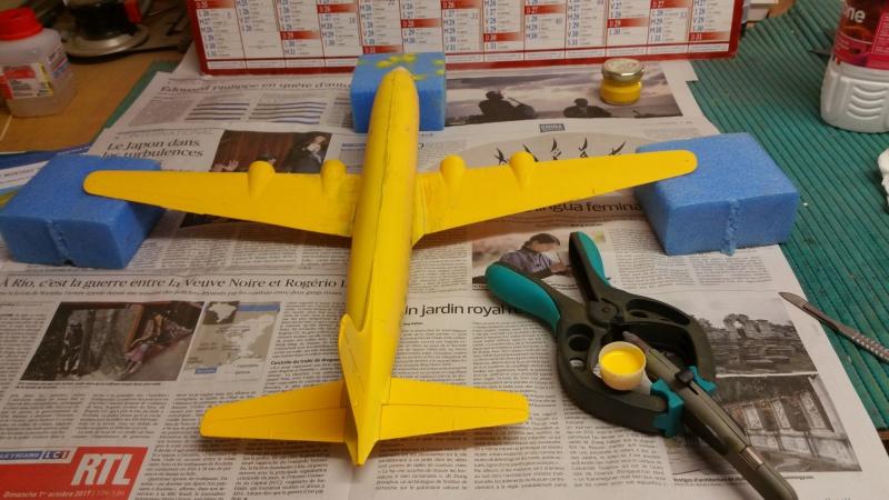 DOUGLAS DC-6B SECURITE CIVILE maquette HELLER au 1/72° - Page 2 45795220171210153422