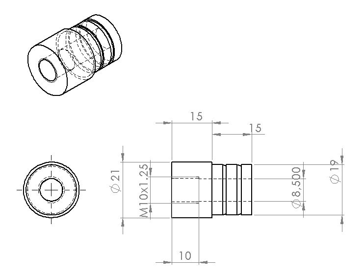 """Fabrication d'un """"bouchon"""" pour mon bac à copeaux pour récupérer le fuide de coupe 458138siphonarosage1"""