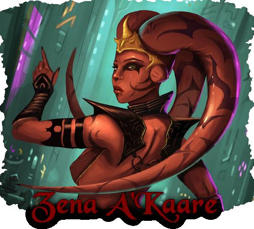 Fiche de Zena A'Kaare (Validé) 459112ZenaAKaare
