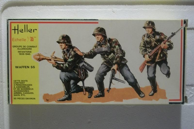 Groupe de Combat Allemand (réf.118) Waffen SS 1/35 459420Heller118135GCAWaffenSS001