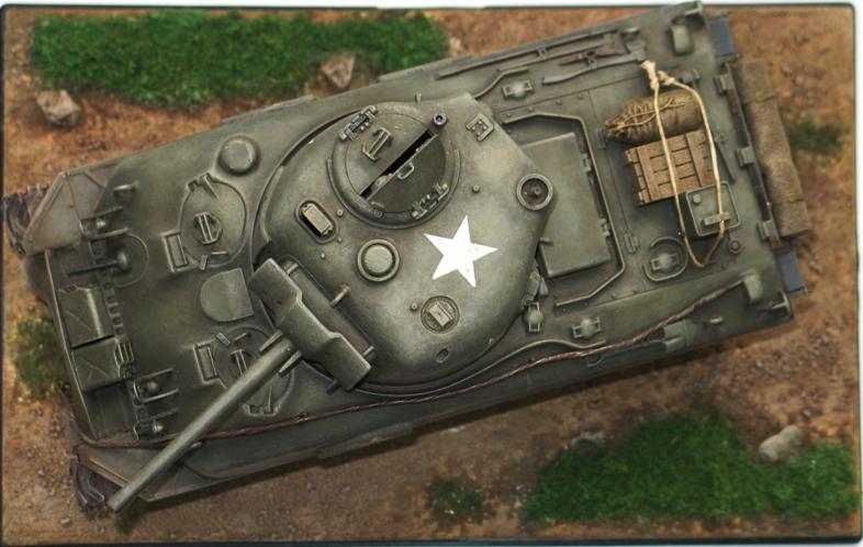 Sherman M4A1 late Italeri+scratch rénové 459979IMG0024