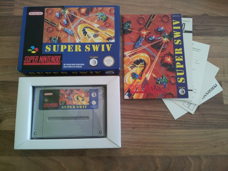 Prupru's Collection ! 100% Super Nintendo et 200% Super Comboy !! - Page 12 461001Swiv