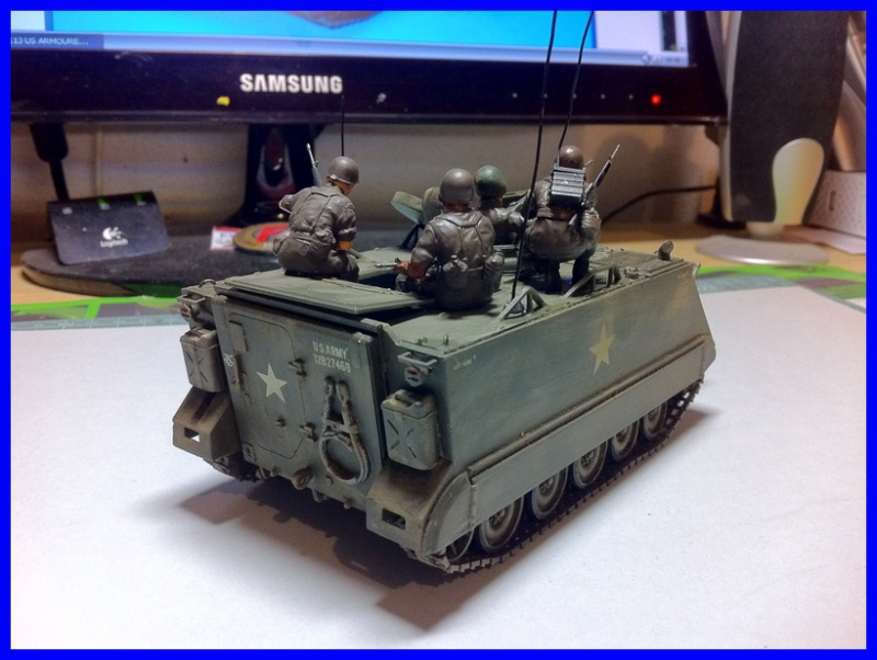M 113 US ARMOURED PERSONNEL CARRIER 1/35 TAMIYA 461260photo3800x600