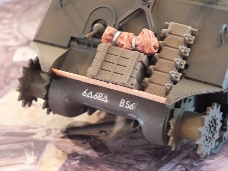Sherman A3E2  Tamiya 1/35 et canon alu Rb models.  (Patine en cours) - Page 2 461305DSCF7226
