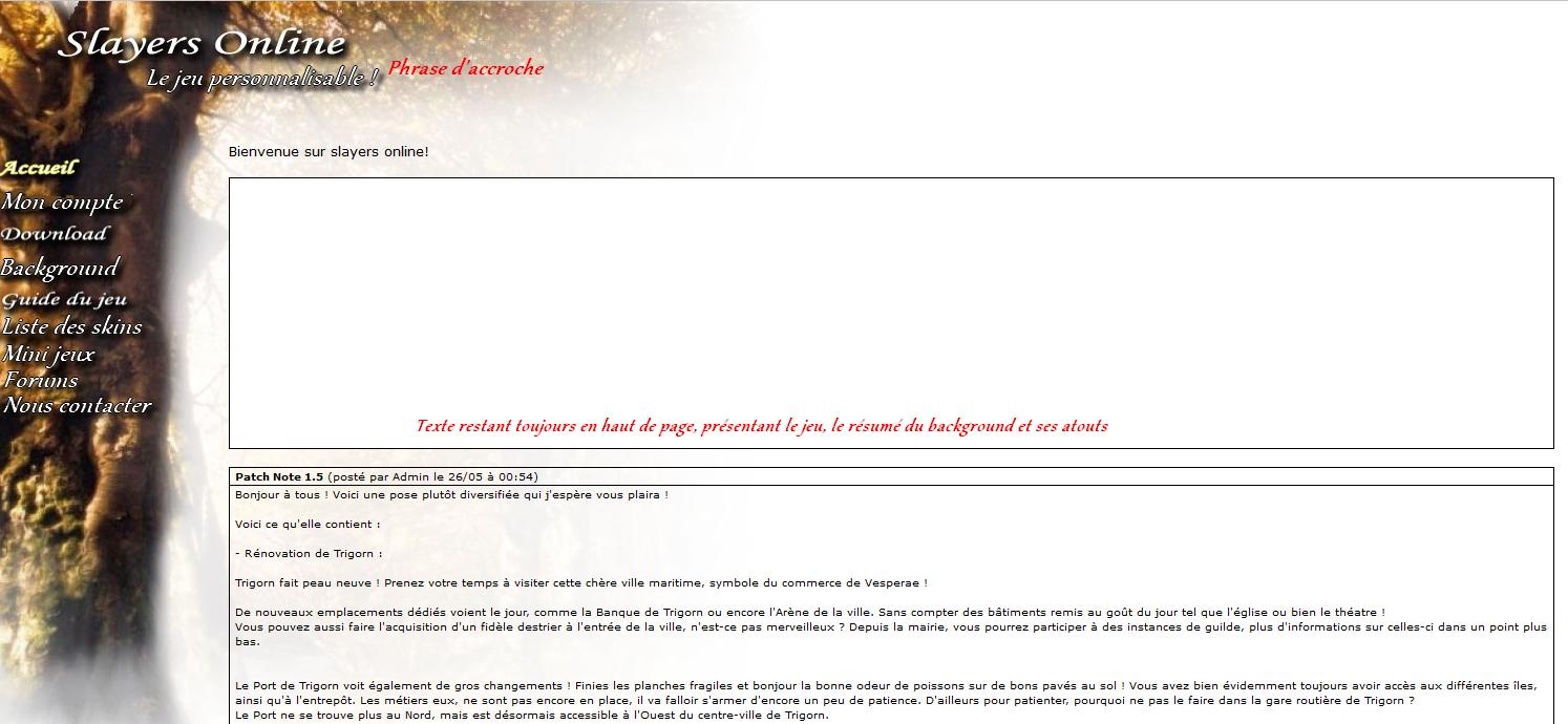 [ Site web ]  Projet d'un nouveau site - Vos avis! - Page 2 461470site