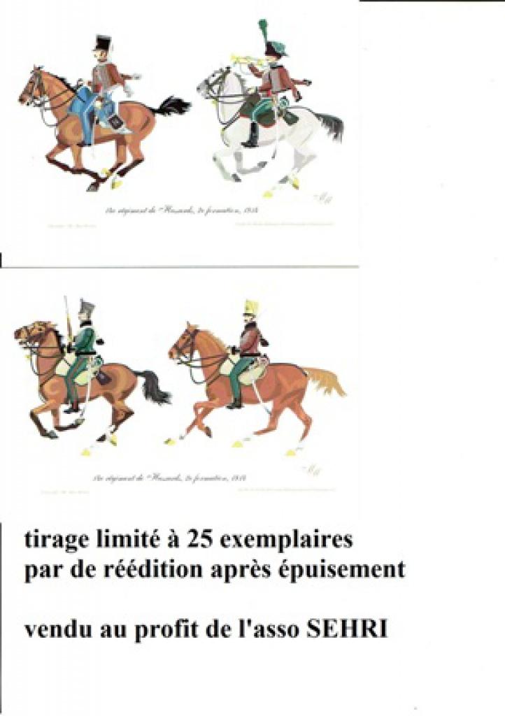les séries de cartes postales uniformologiques de la SEHRI 46154814e2eformation1814