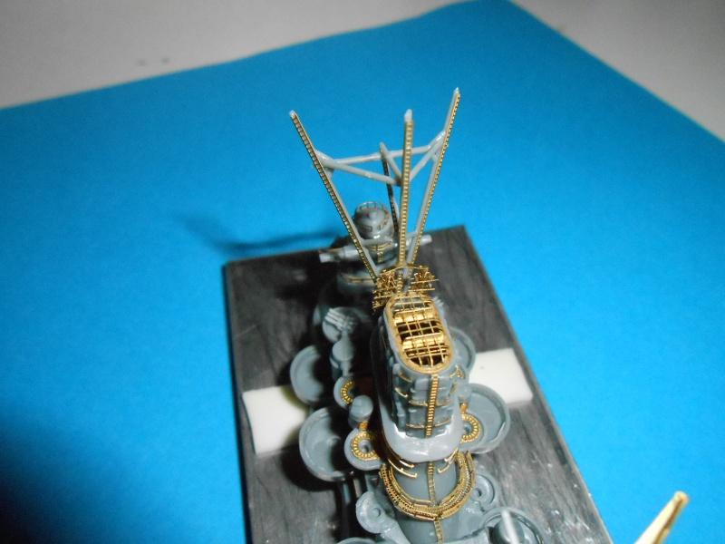 Yamato 1/700 fuji, PE,Pont en bois et babioles - Page 3 463234DSCN5401