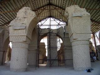 Dans le nord de l'Afghanistan, les mystères de la mosquée des Neuf Dômes 4637289domemosque