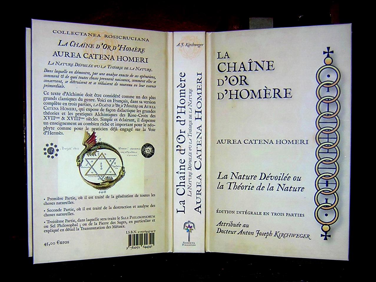 La Chaîne d'Or d'Homère 464975Chainedor