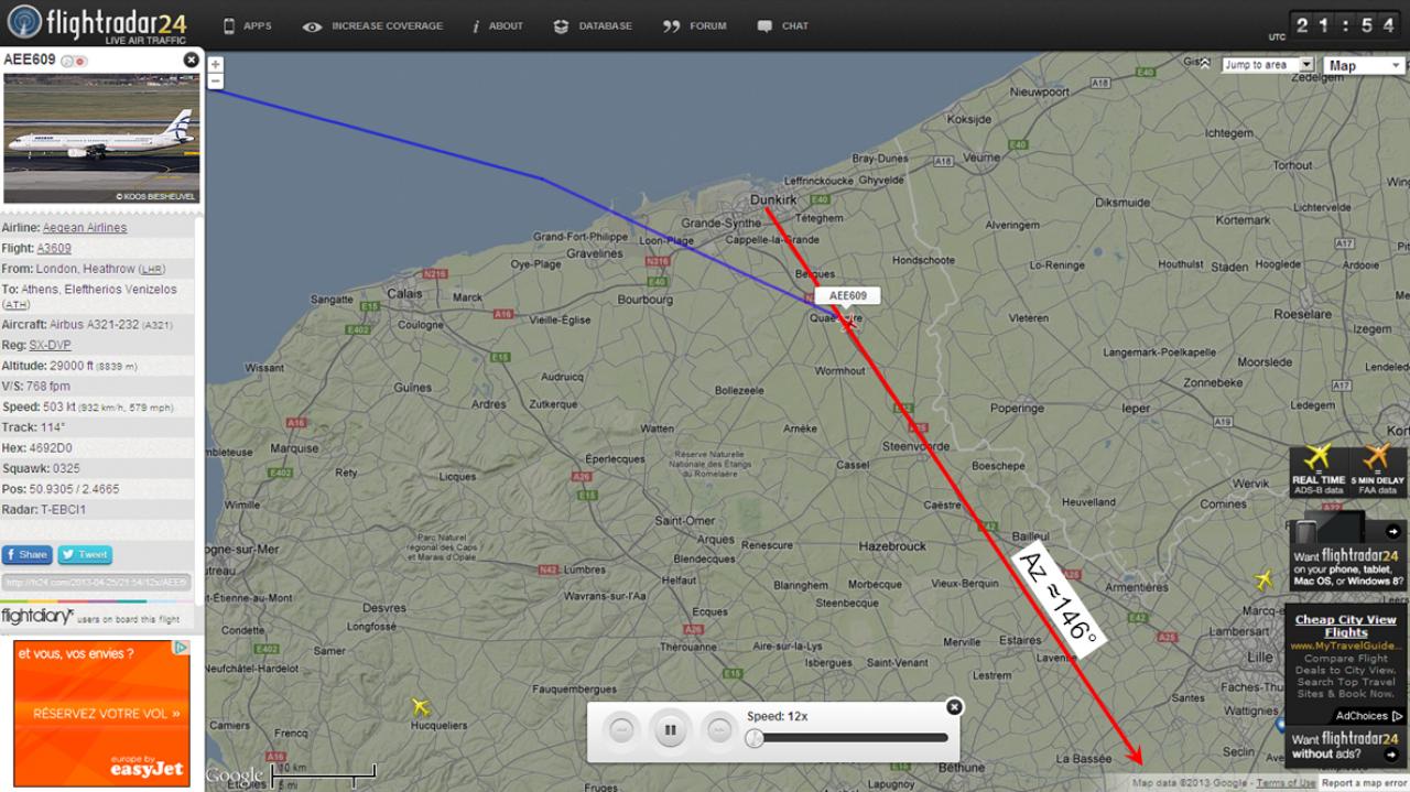 2013: le 26/04Lumière étrange dans le ciel  - Dunkerque (France)  464991ClaudeT9