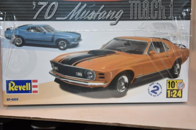 mustang 1970 MACH 1  au 1/24 de chez revell  465161DSC0060