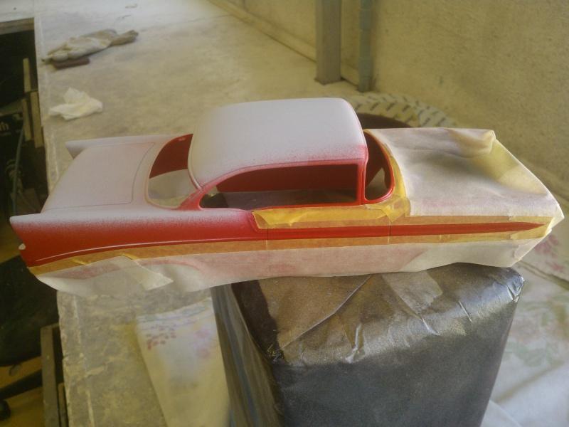 #47 : Chevy bel air 56 custom (TERMINEE) 465452WP001630