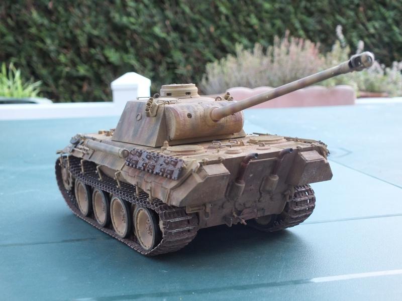 Panther Ausf D Dragon 1/35 avec Zimmerit réf. 6428 (FIN  DE PATINE , finitions lors de la  mise en place sur Dio) - Page 3 466621DSCF7089