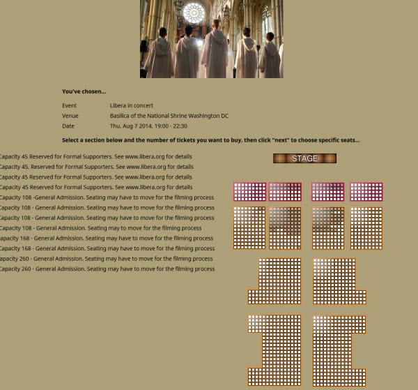 Washington DC - Concert & tournage de DVD: 7 août 2014 467771TicketsWashingtonBasilica