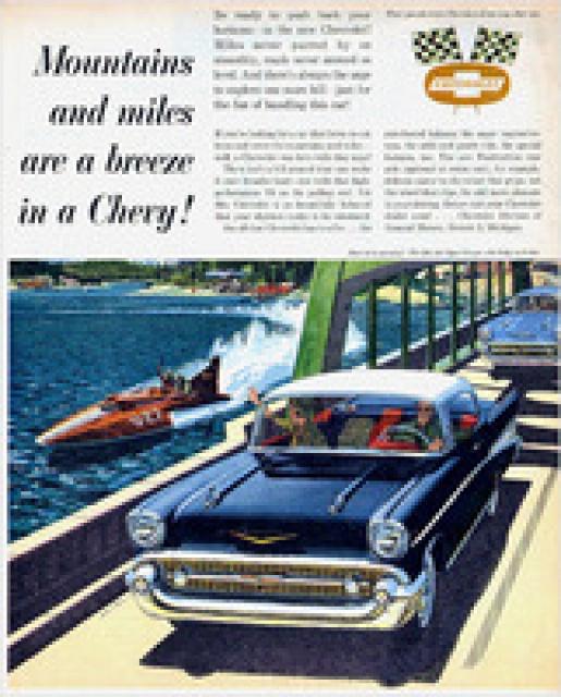 chevrolet bel air hardtop 1957 de chez amt au 1/16 4686551957ChevroletAd14thumb