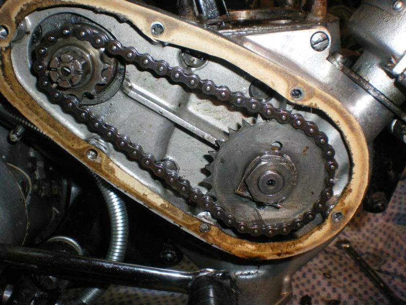 Débris dans dans pompe à huile C11 469034IMGP1382