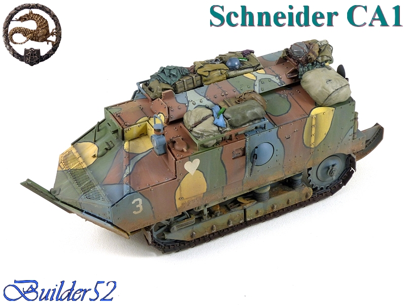 CHAR SCHNEIDER CA 1 - HOBBY BOSS 1/35 469728P1050070